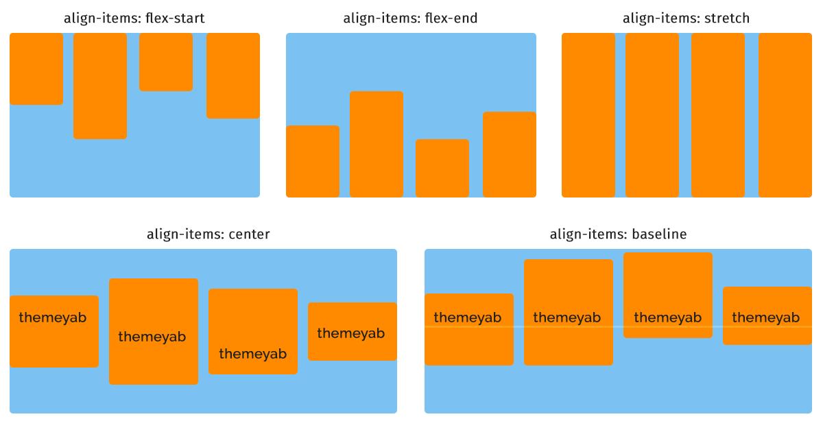 flexbox align-items